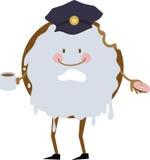 Police Donut Royalty Free Stock Photo