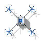 Police drone Royalty Free Stock Photos