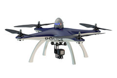 Police Drone Stock Image