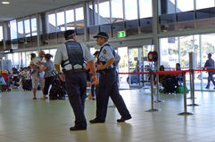 Police du Queensland (QPS) - Australie Photo libre de droits