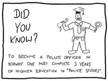 Police education Stock Images