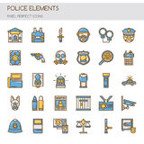 Police Elements Stock Photos