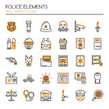 Police Elements Royalty Free Stock Images