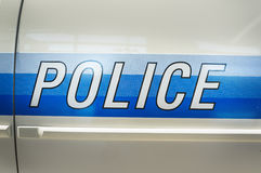 Police emergency car vehicle Royalty Free Stock Photography