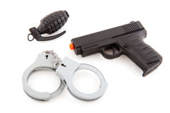 Police equipment Stock Image