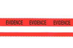 Police Evidence Tape Royalty Free Stock Photos