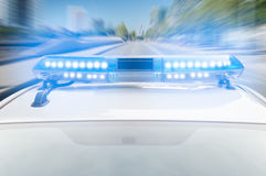 Police fast Royalty Free Stock Photography