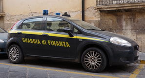Police financière italienne Photographie stock
