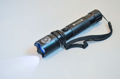 Police flashlight Royalty Free Stock Images