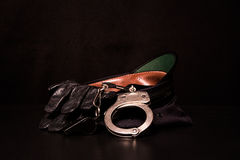 Police Gear Royalty Free Stock Images