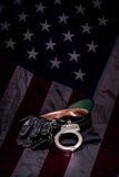 Police Gear Royalty Free Stock Photos