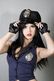 Police girl Stock Photos