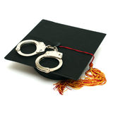 Police Graduate Royalty Free Stock Photos
