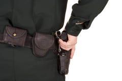 Police Gun Stock Image