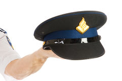Police hat Royalty Free Stock Photo