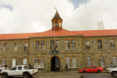 Police headquarters at kingstown, st. vincent Stock Image