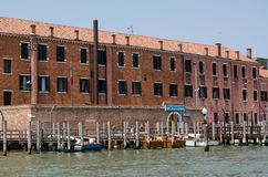Police Headquarters, Venice Stock Image