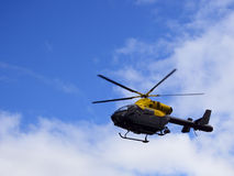 Police helicopter Royalty Free Stock Images