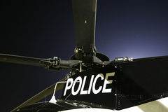 Police Helicopter Stock Image