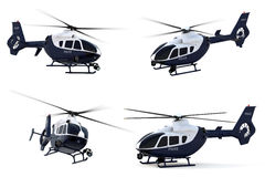 Police Helicopter Stock Photography