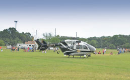 Police helicopter Royalty Free Stock Image