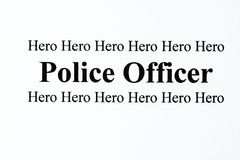 Police Hero Royalty Free Stock Images