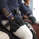 Police on Horseback Royalty Free Stock Images