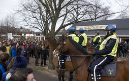 Police on Horseback Stock Photography