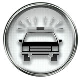 Police icon grey Stock Images