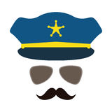 police icon image Royalty Free Stock Images