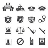 Police icon Stock Photos