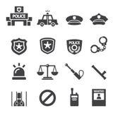 Police icon Stock Photos