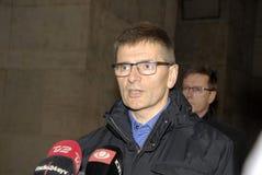 POLICE INSPETCOR JORGEN SKOV Stock Photos