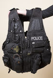 Police issue tactical vest Royalty Free Stock Photo