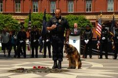 Police K-9 Memorial Service