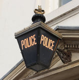 Police lamp Royalty Free Stock Photos