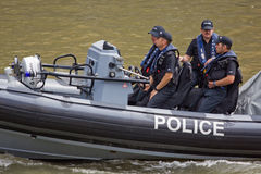 Police Launch Stock Images