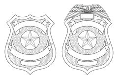 Free Police Law Enforcement Badge Royalty Free Stock Photos - 85453778