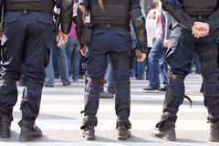 Police. Law enforcement. Police on duty stock photo