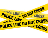 Police line Stock Images