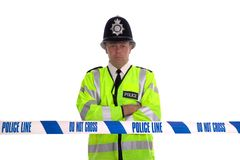 Police Line Royalty Free Stock Image