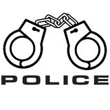 Police logo Royalty Free Stock Images