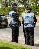 Police - Malton - Ryedale - North Yorkshire - UK Royalty Free Stock Photo