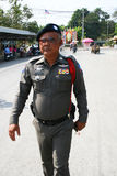 Police man in Thailand. Stock Image