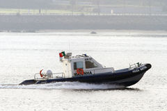 Police maritime boat Royalty Free Stock Photo