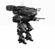 Police mech Royalty Free Stock Image