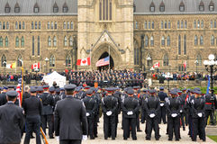 Police Memorial in Ottawa Stock Image