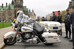 Police Memorial in Ottawa Sept 26 Stock Image