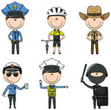 Police Men Stock Images