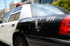 Police mobile unit Royalty Free Stock Photo